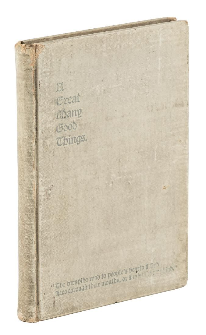 Early Pittsburgh Limited Edition Cookbook