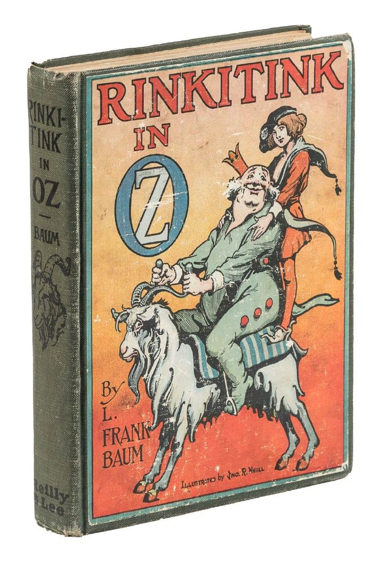 Later printing of Rinkitink in Oz