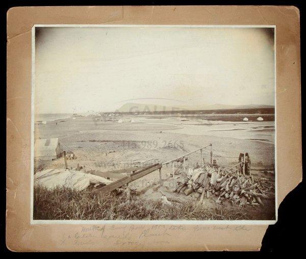 2005: Alaska Gold Rush Photo c. 1900