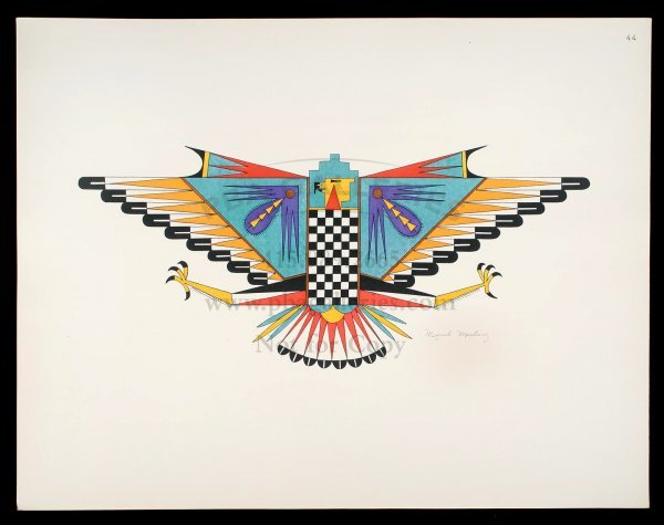 2008: Pueblo Indian Painting 1932 Edition 1 of 500