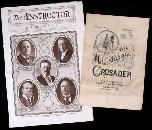 2014: Two anti-tobacco publications 1888 & 1921