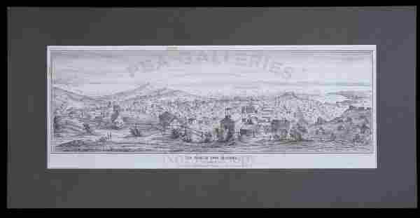 2287: Lithograph of San Francisco in 1851