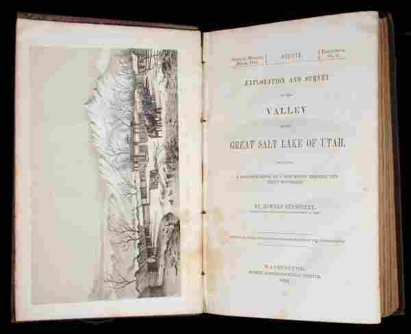 Stansbury's Survey of the Great Salt Lake