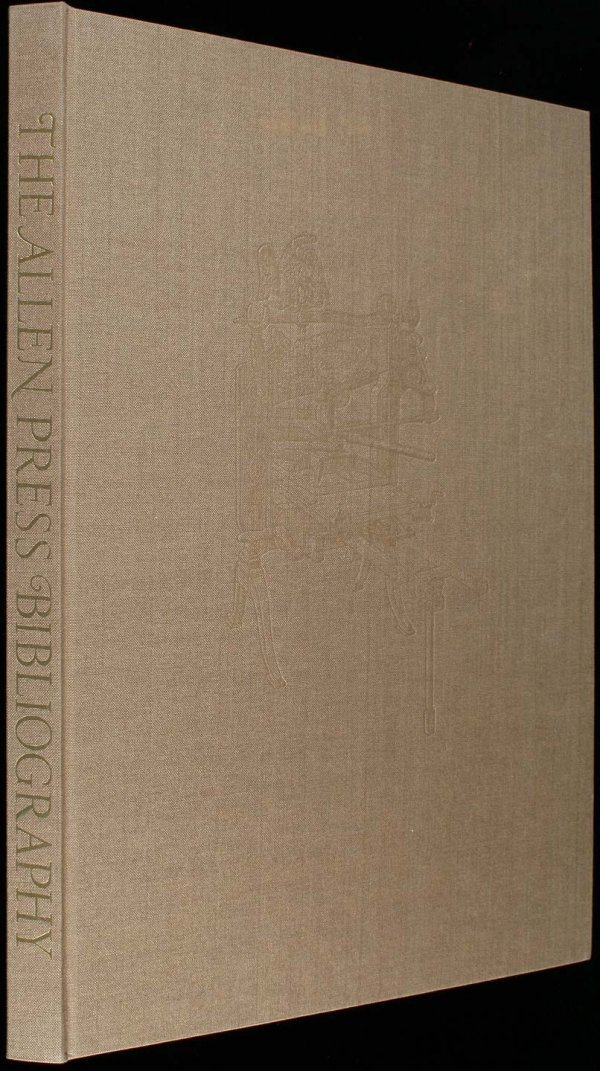 The Allen Press Bibliography - One of 750 copies
