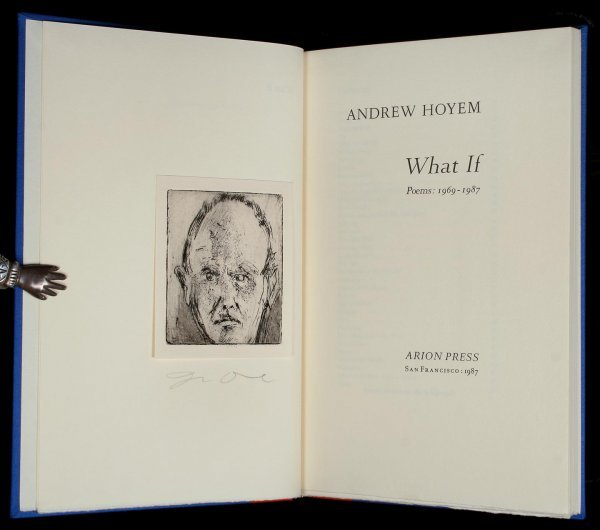 Arion Press Andrew Hoyem What If 1 of 120 copies