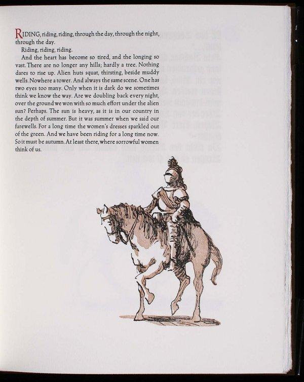 Arion Press Rainer Maria Rilke 1 of 315 copies