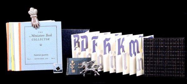 Very Large Group of Miniature Books, Keepsakes