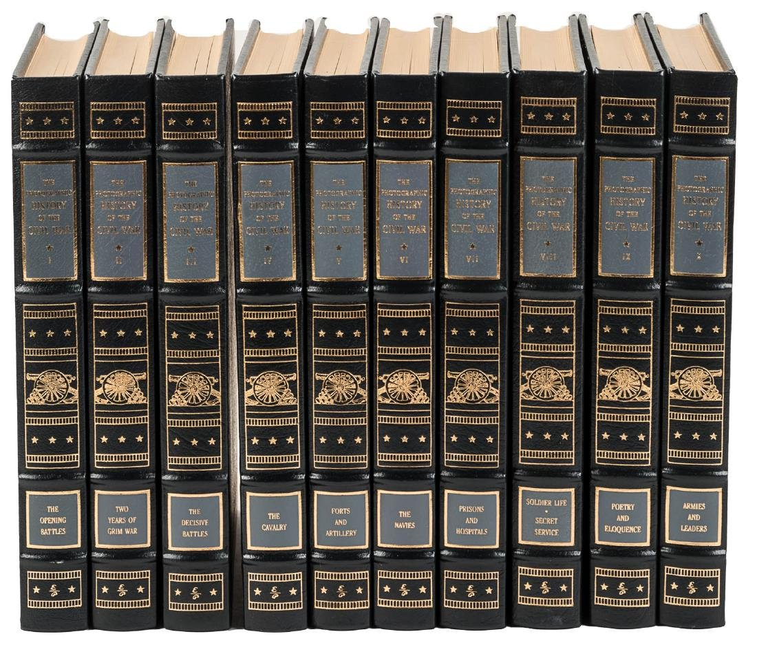 Photographic History of the Civil War Easton Press
