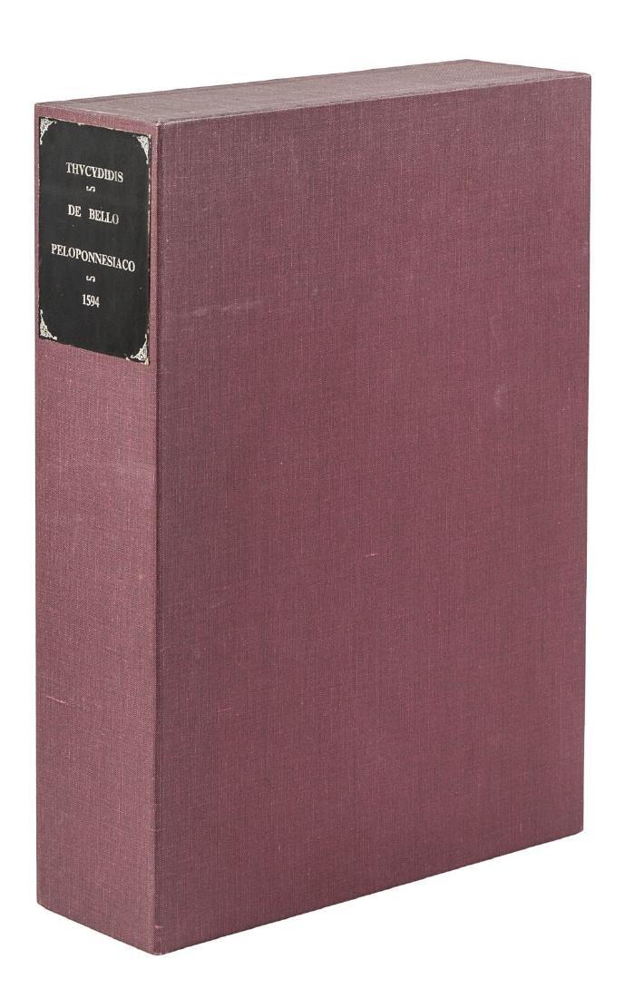 Thucydides' Greek for the literati, 1594 - 2