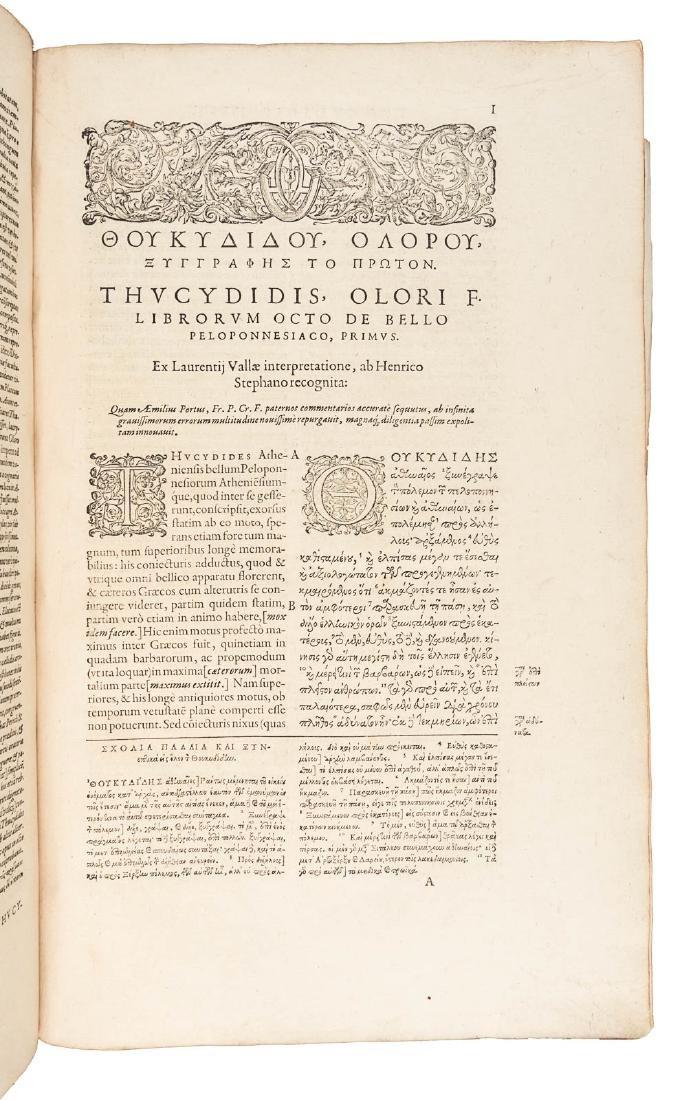 Thucydides' Greek for the literati, 1594 - 4