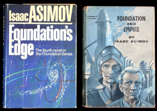 1: Isaac Asimov 2 titles in the Foundation series