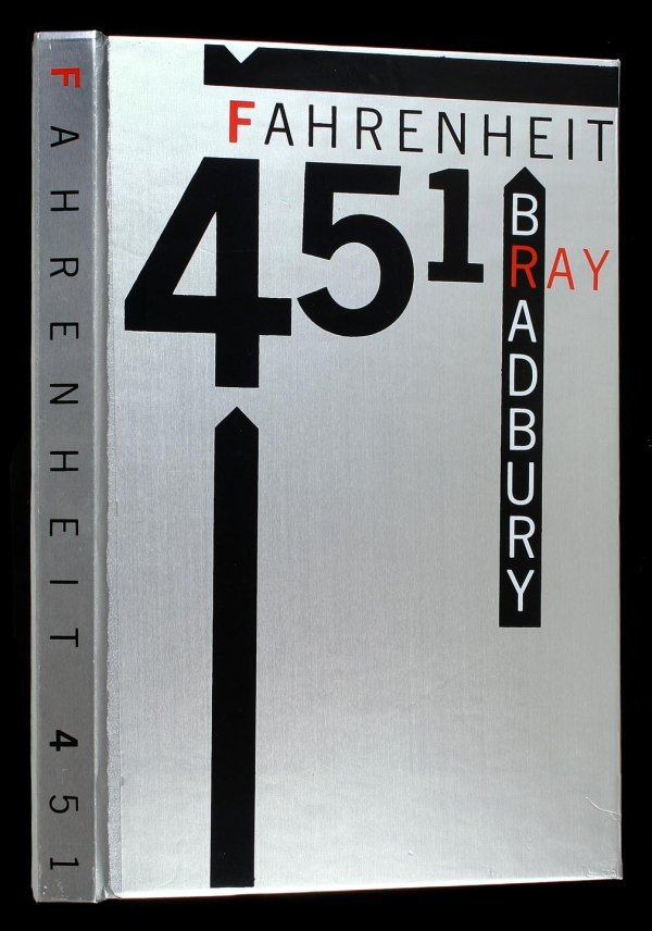 4: Ray Bradbury Fahrenheit 451 LEC signed book