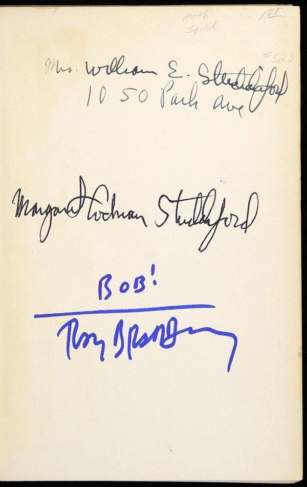 5: Ray Bradbury Illustrated Man Signed 1st Edition