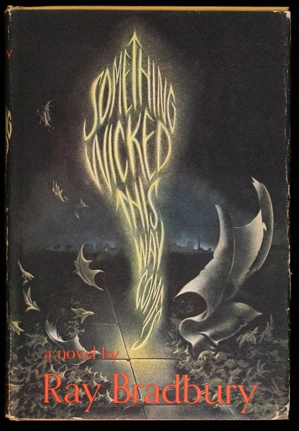 8: Ray Bradbury Something Wicked signed 1st edition