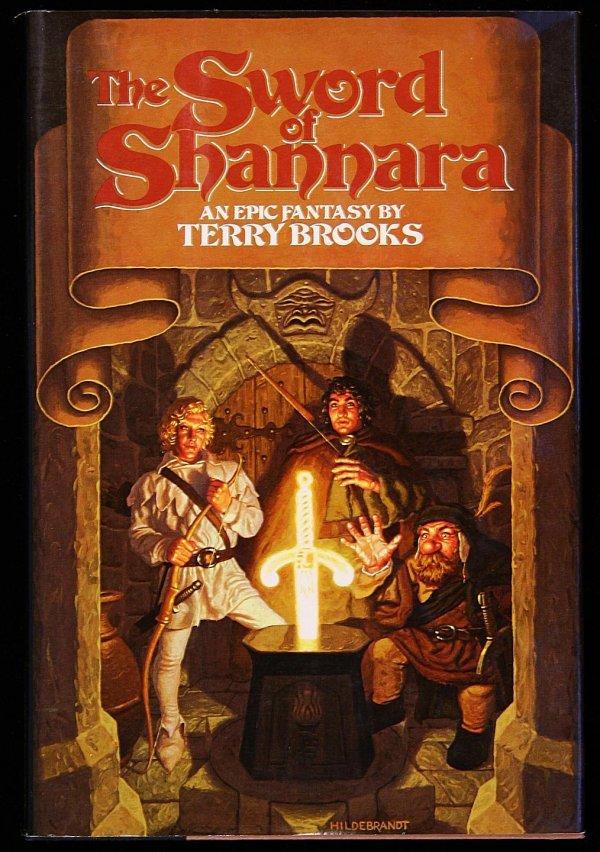 9: Terry Brooks Sword of Shannara first edition dj