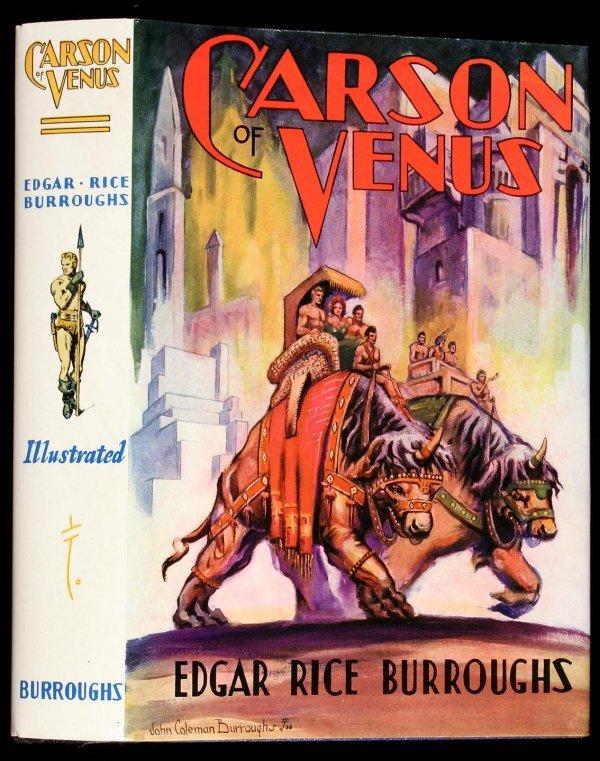 11: Edgar Rice Burroughs Carson of Venus 1st Edition