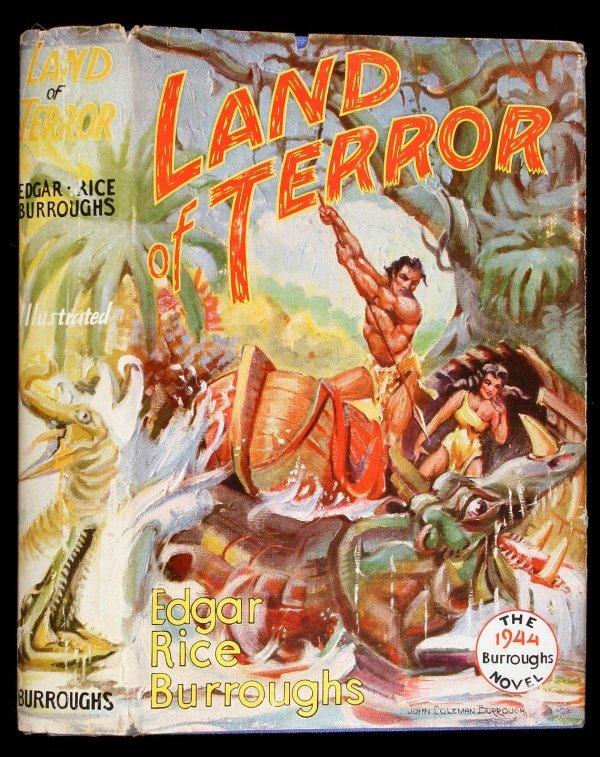 14: Edgar Rice Burroughs Land of Terror 1st Edition