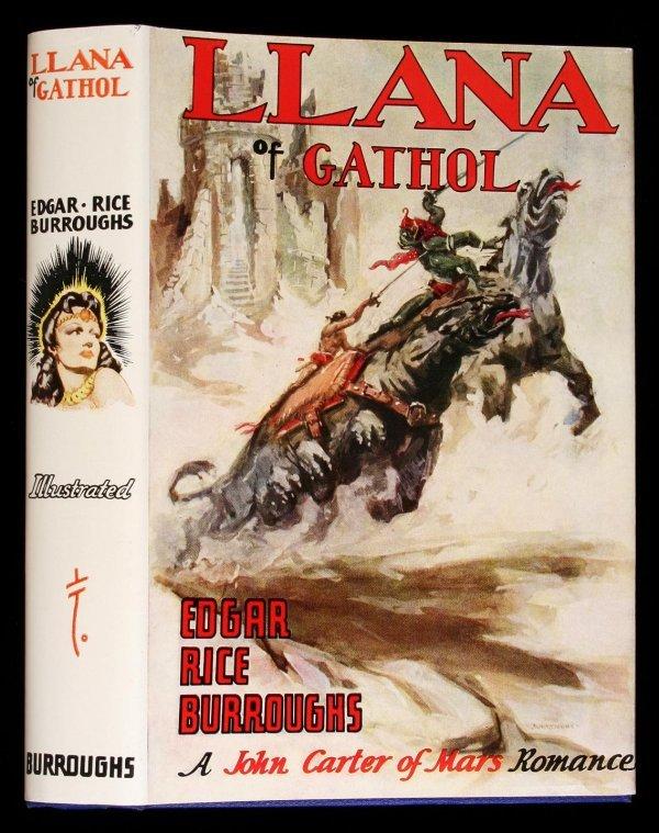 15: Edgar Rice Burroughs Llana of Gathol 1st edition