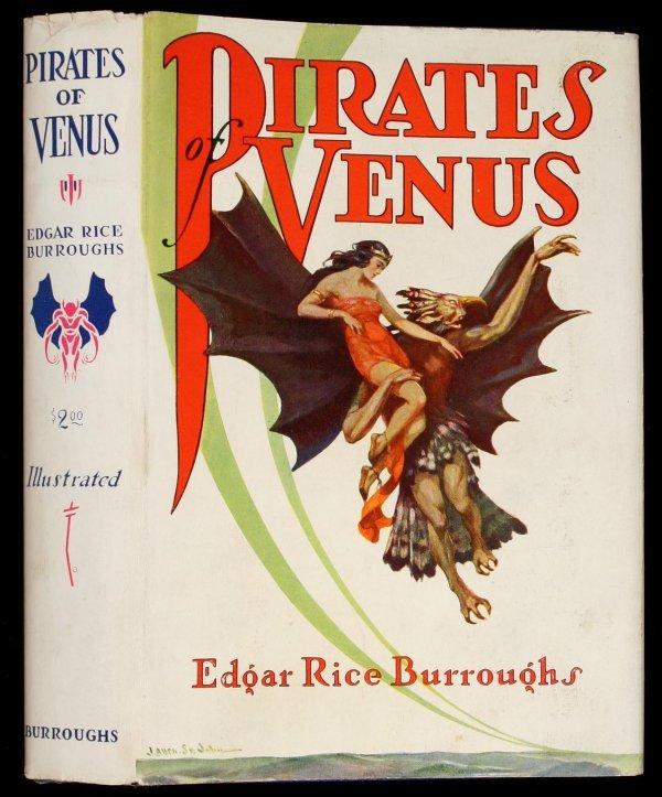 17: Edgar Rice Burroughs Pirates of Venus 1st Edition