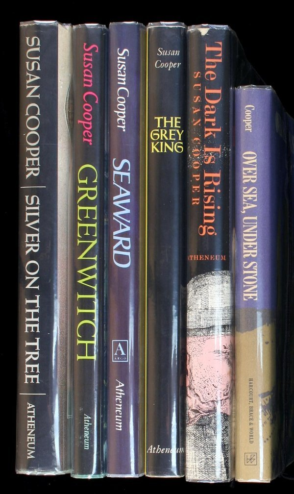 22: Lot of 6 Susan Cooper books