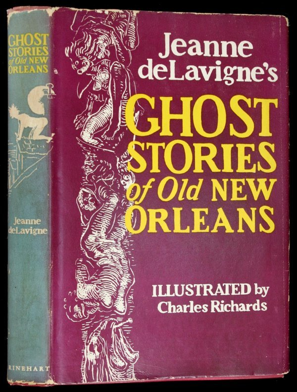 23: Ghost Stories of Old New Orleans first edition