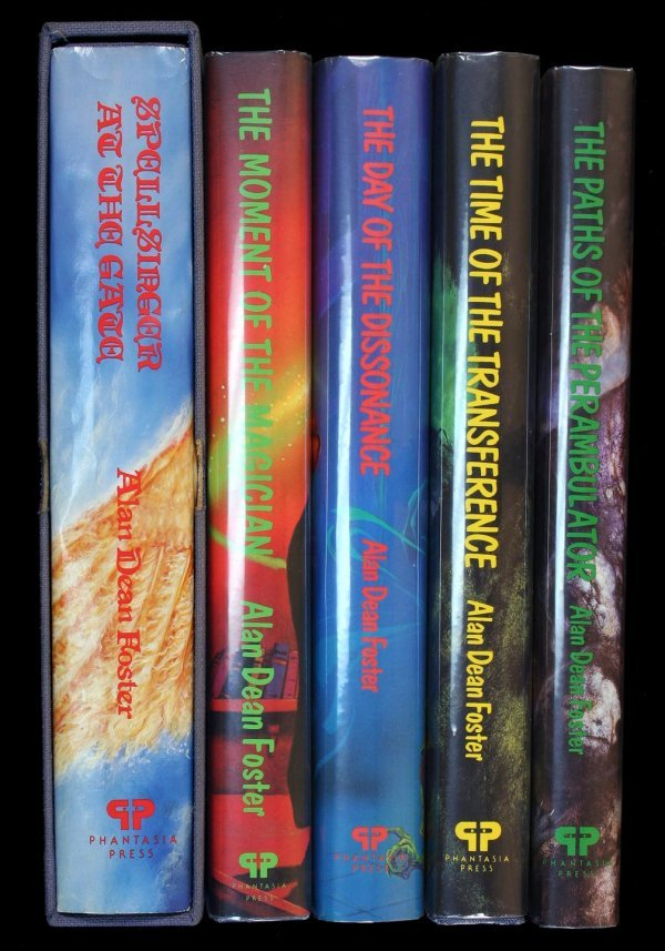 24: Alan Dean Foster lot of 5 first editions
