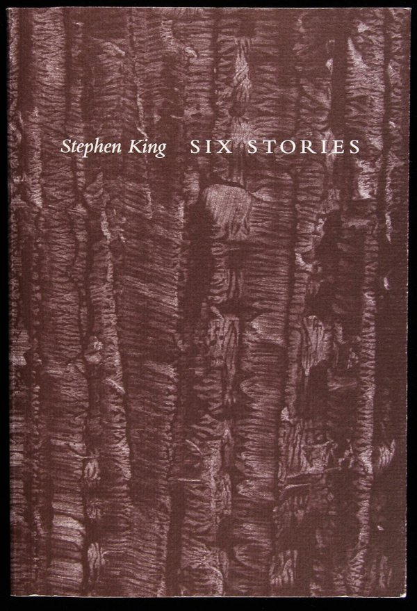 63: Stephen King Six Stories Signed Limited Edition