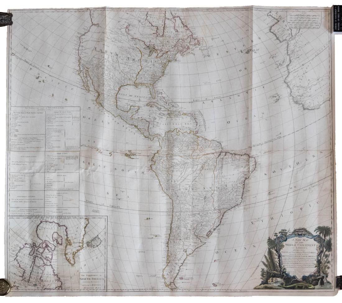 Large map of the Americas 1794