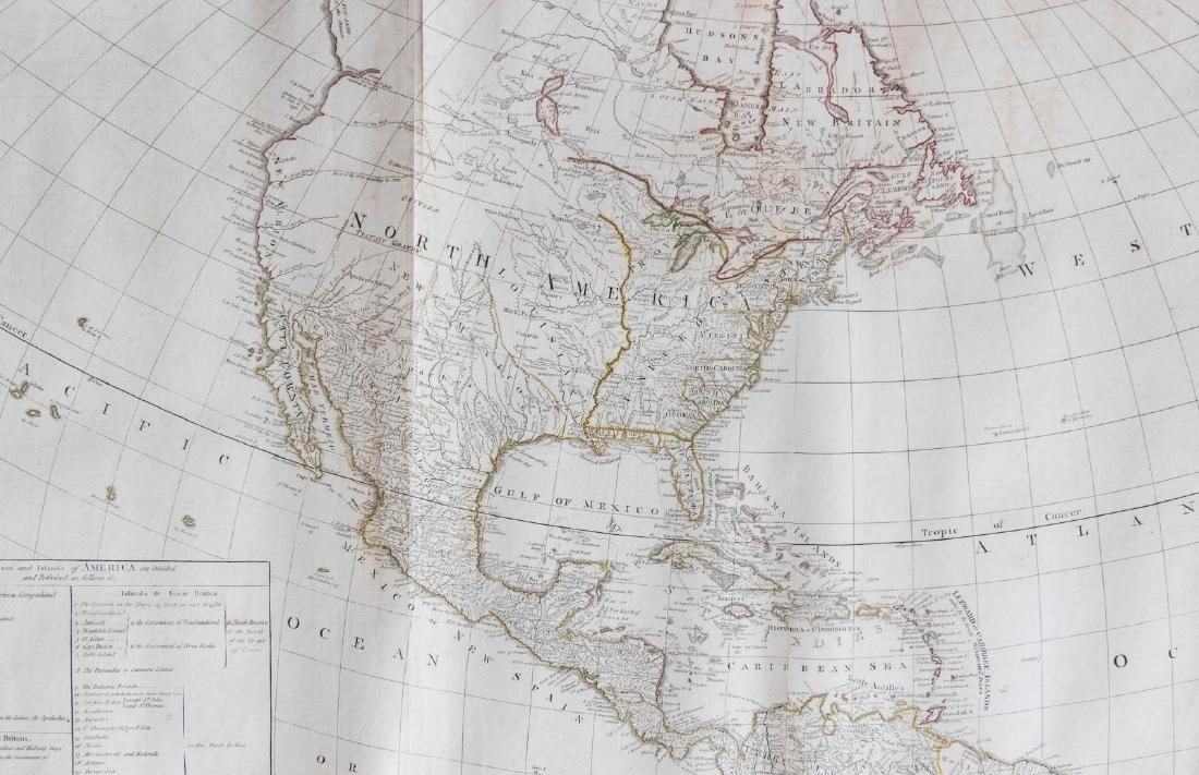 Large map of the Americas 1794 - 3
