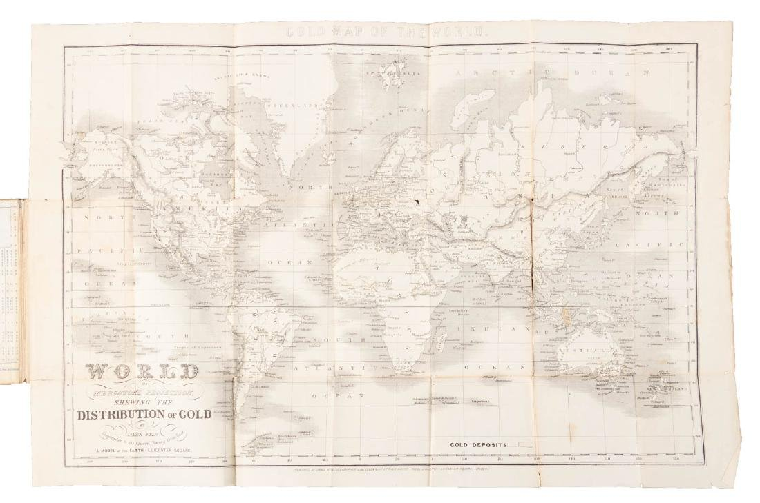 Wyld's Gold Map of the World