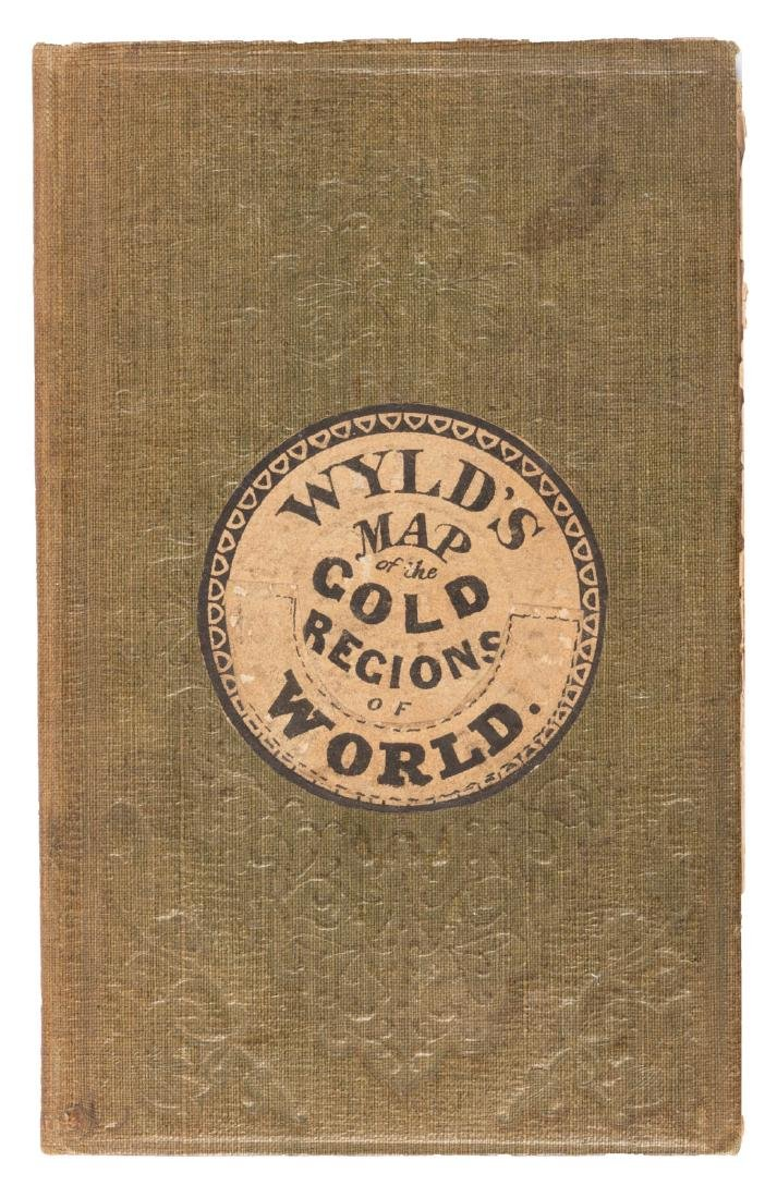Wyld's Gold Map of the World - 2