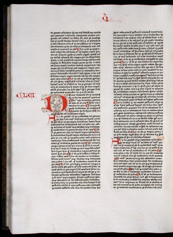 1004: Aquinas' Summa Theologiae, 1463