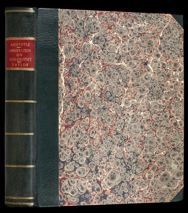 1005: Thomas Taylor's Dissertation on Aristotle 1812