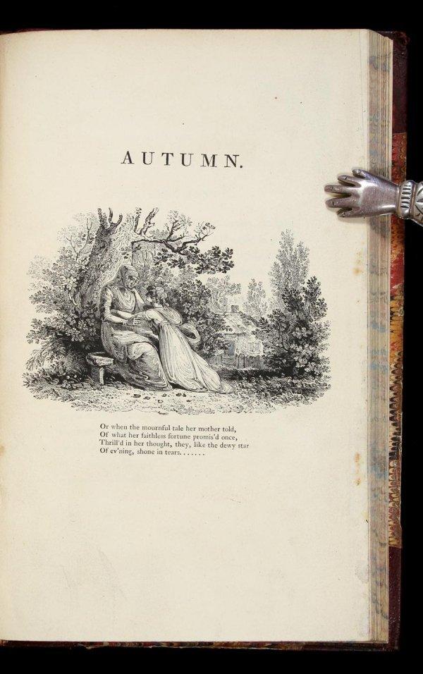 1014: Thomson's Seasons with Bewick engravings