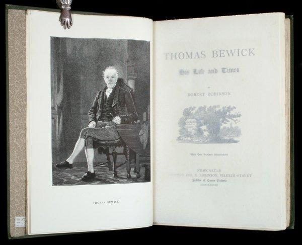 1016: Robinson's Life of Thomas Bewick