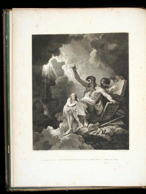 1017: The Macklin Bible - 6 Volumes - 1800