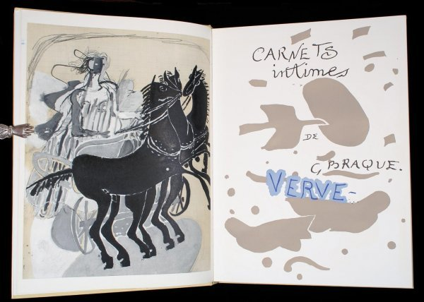 1023: Double Issue of Verve - Georges Braque