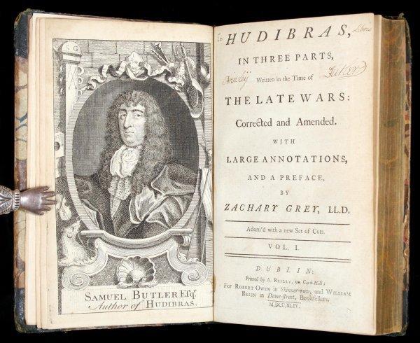 1026: Butler's Hudibras with Hogarth Illustrations