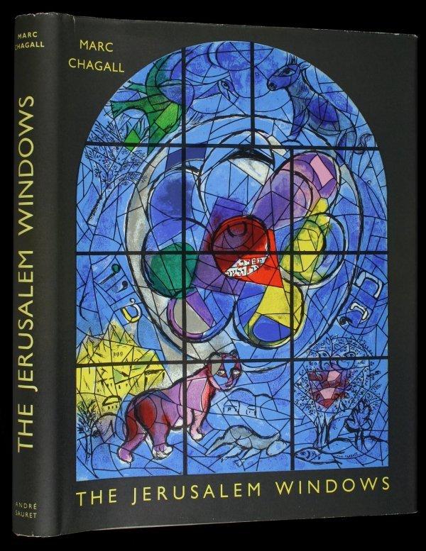 1027: Marc Chagall Jerusalem Windows