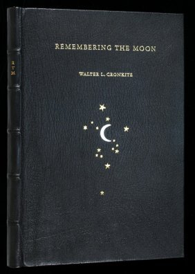 Walter Cronkite Remembering The Moon 1/250
