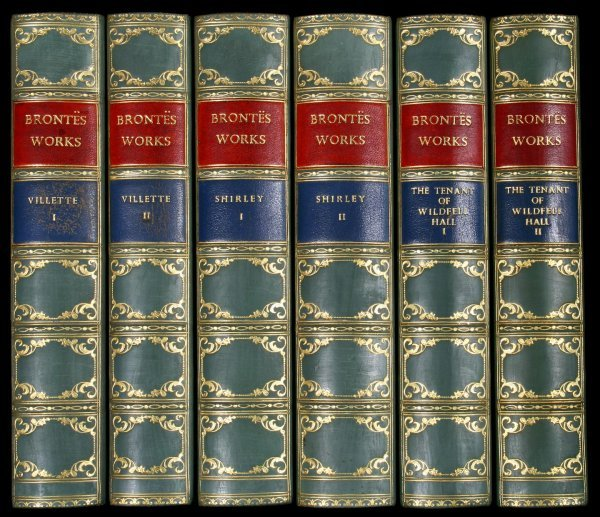 1033: Novels of the Bronte Sisters Leather Bound