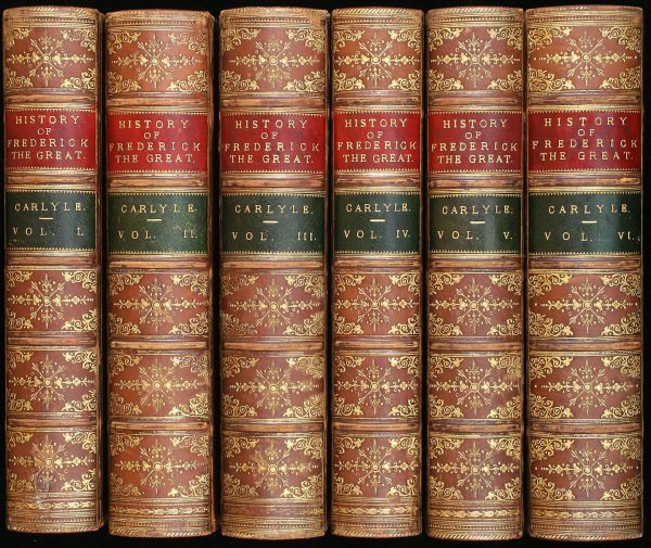 1036: Carlyle's History of Frederick The Great
