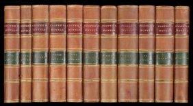 Novels Of J. Fenimore Cooper 34 Volumes