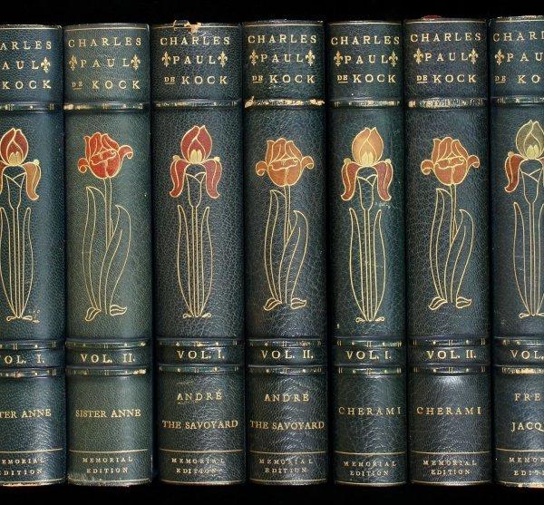 1038: Works of Charles Paul De Kock 1 of 250 sets
