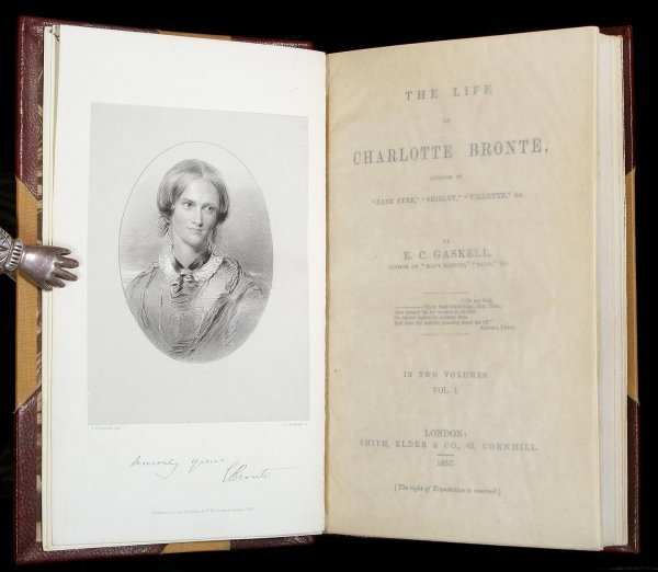 1042: Life of Charlotte Bronte 1857 Finely Bound