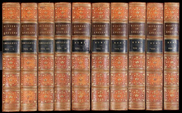 1048: Hume and Smollett History of England 10 Volumes