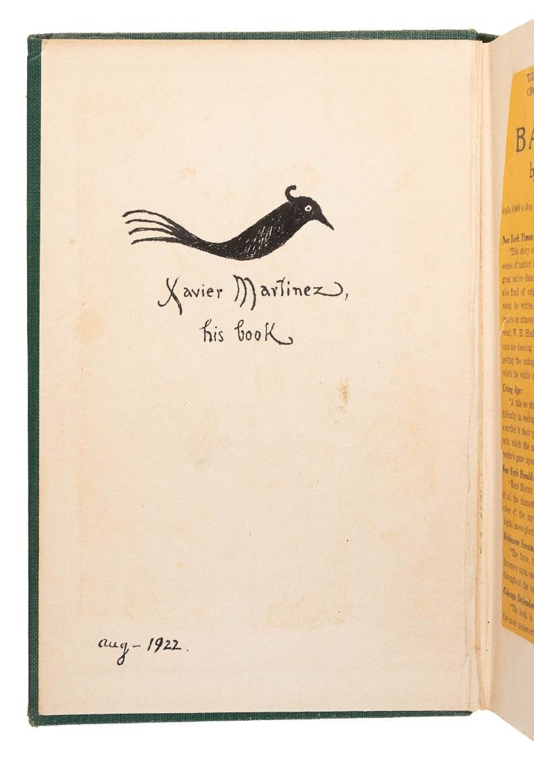 3 volumes from the library of artist Xavier Martinez - 2