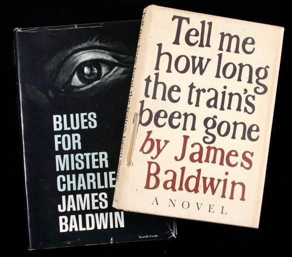 2004: Two volumes by James Baldwin, each signed