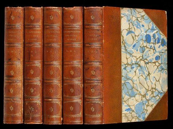 2009: Elizabeth Browning Poetical Works - 5 volumes