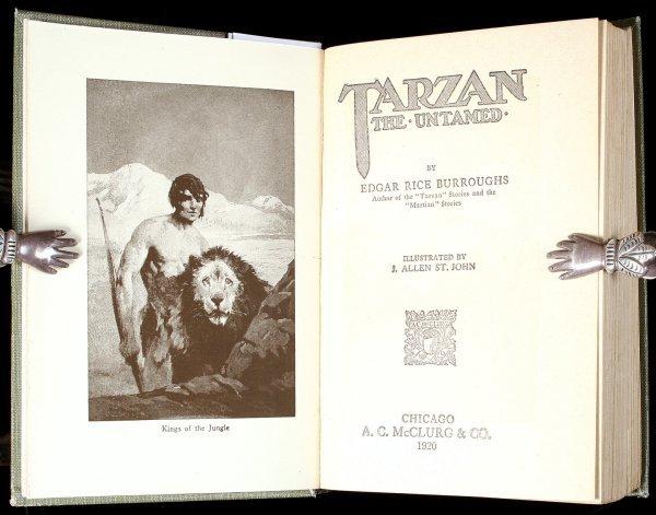 2012: Burroughs Tarzan the Untamed 1st Ed. 1920